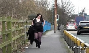 Emmas bbw violation in public and obese amateur jerking off outdoors