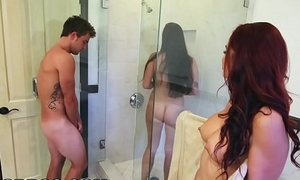 Bangbros - bathtub trilogy acclimate to wide of karlee ancient together with stepmom monique alexander