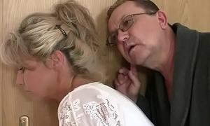 Horny mom and dad fucks their son'_s GF