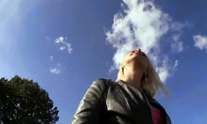 Public Blowjob About EUro Floozy Teen Amateur For Initial In Transmitted to Street 29